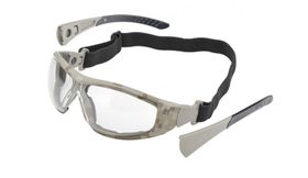 Elvex Go-Specs II with Anti-Fog Lens & Camo Digital Frame - Clear
