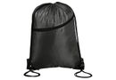 Swiss Horizons Double Up Drawstring Bag - Black