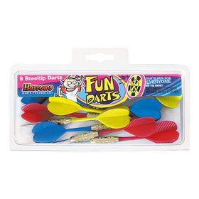 Harrows Fun Darts Steeltip 3 Set - 9 Piece