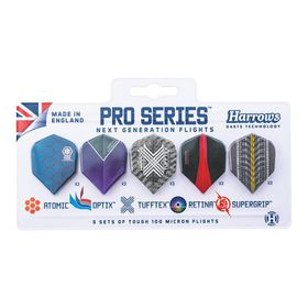 Harrows Pro Series Flights - 5 Pack