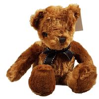Scruffy Teddy Bear Plush Toy - Brown