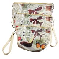 Shoe Cosmetic Bags Set Of 3