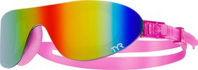 TYR Swim Shades Mirrored Goggles - Rainbow/Pink