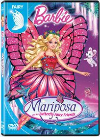 Barbie Mariposa And Her Butterfly Fairy Friends (DVD)