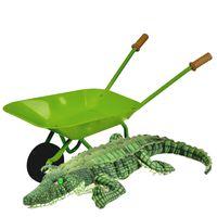 Wheelbarrow & Crocodile - Green