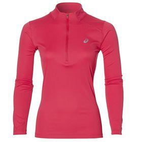 Women's ASICS Long Sleeve 1/2 Zip Running Top