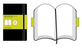 Moleskine Soft Black Large Plain Notebook