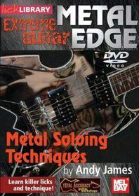 Metal Edge:Metal Soloing Techniques - (Region 1 Import DVD)