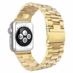 Hoco Classic Plated Stainless Steel Apple Watch Band - Gold