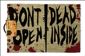 The Walking Dead Door Mat (Parallel Import)
