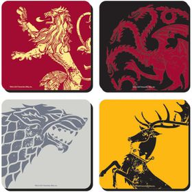 Game Of Thrones Coaster - Set of 4 (Parallel Import)