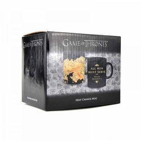 Game of Thrones: Valar Morghulis - Map Heat Change Mug - All Men Must Die (Parallel Import)