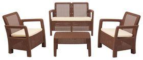 Keter - Hawaii Lounge Set - Brown
