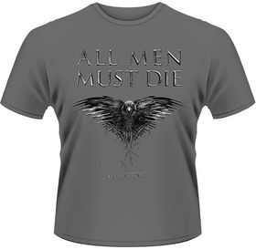 Game of Thrones All Men Must Die T-Shirt - (Size: XX-Large - Parallel Import)
