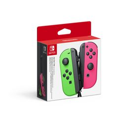 Joy-Con Pair - Neon Green/Pink (Nintendo Switch)