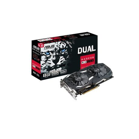 ASUS Dual Series Radeon RX580 8GB GDDR5 Graphics Card