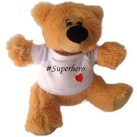 Qtees Africa #Superhero Teddy Bear