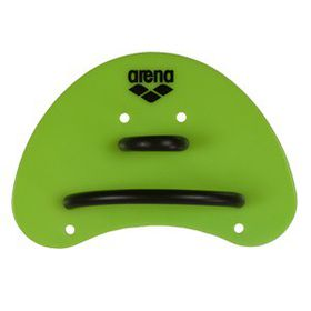 Arena Elite Finger Paddle - Lime Green