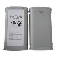 Compatible HP Ink Tank 70/72 - Cyan