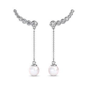 Destiny Catalina Earrings with Swarovski Crystals