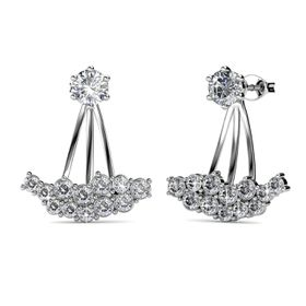 Destiny Allesandra Earrings  with Swarovski Crystals