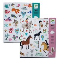 Djeco Horses & Small Friends Stickers