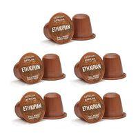 Caffeluxe Ethiopian 50 Coffee Capsules for Nespresso