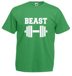 Qtees Africa Beast Green Mens T-Shirt
