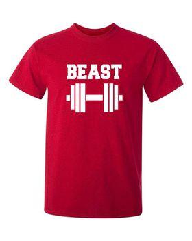 Qtees Africa Beast Red Mens T-Shirt