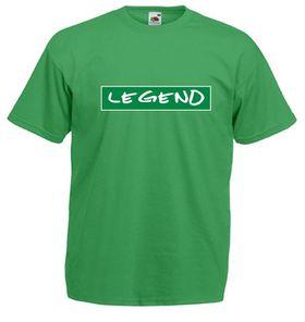 Qtees Africa Legend Green Mens T-Shirt