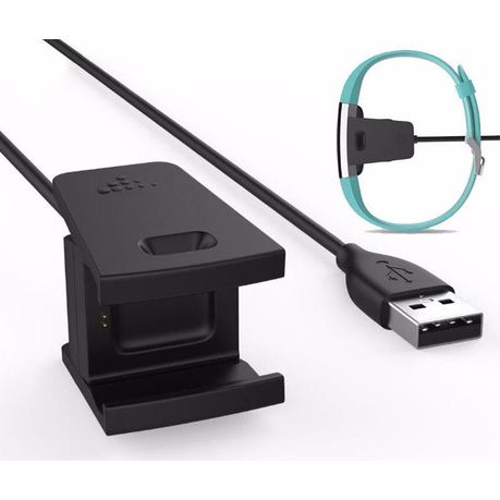 Replacement Charger for Fitbit Charge 2 - Black | Buy Online