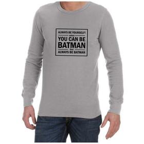 Juicebubble Always Be Yourself Long Sleeve Shirt - Grey