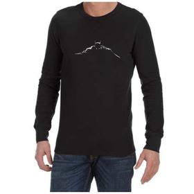 Juicebubble Batman Silhouette Long Sleeve Shirt - Black