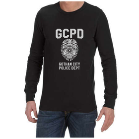 Juicebubble GCPD Long Sleeve Shirt - Black