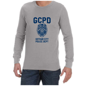 Juicebubble GCPD Long Sleeve Shirt - Grey