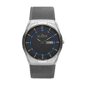 Skagen SKW6078 Mens Melbye Titanium Mesh Watch - Grey (Parallel Import)