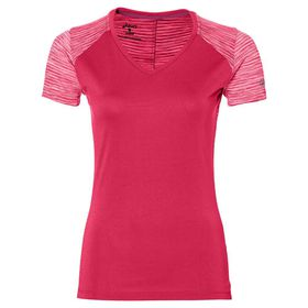 Women's ASICS FuzeX V-Neck Short Sleeve Top