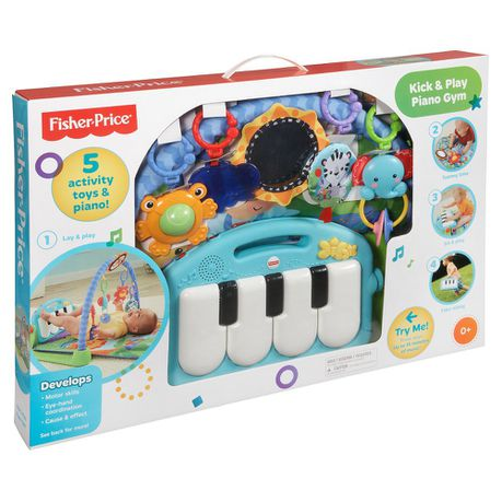 4fd8751f5 Fisher Price Kick   Play Piano Gym