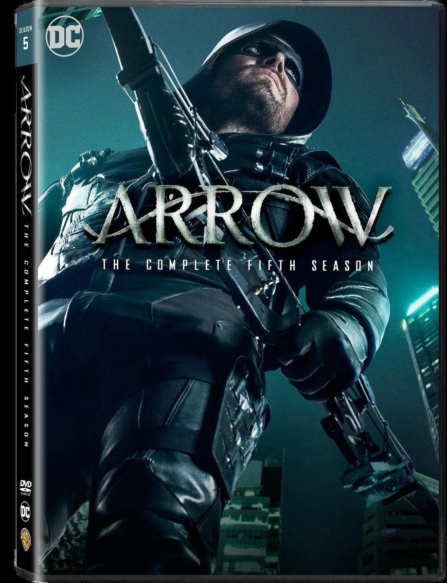 Arrow Season 5 Dvd Buy Online In South Africa R Maxell 16x Bulk Pack 50