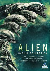 Alien Boxset - Alien, Aliens, Aliens 3, Resurrection, Prometheus, Covenant (DVD)