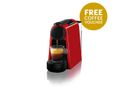 Nespresso - Essenza Mini D30 Espresso & Lungo Coffee Machine - Red