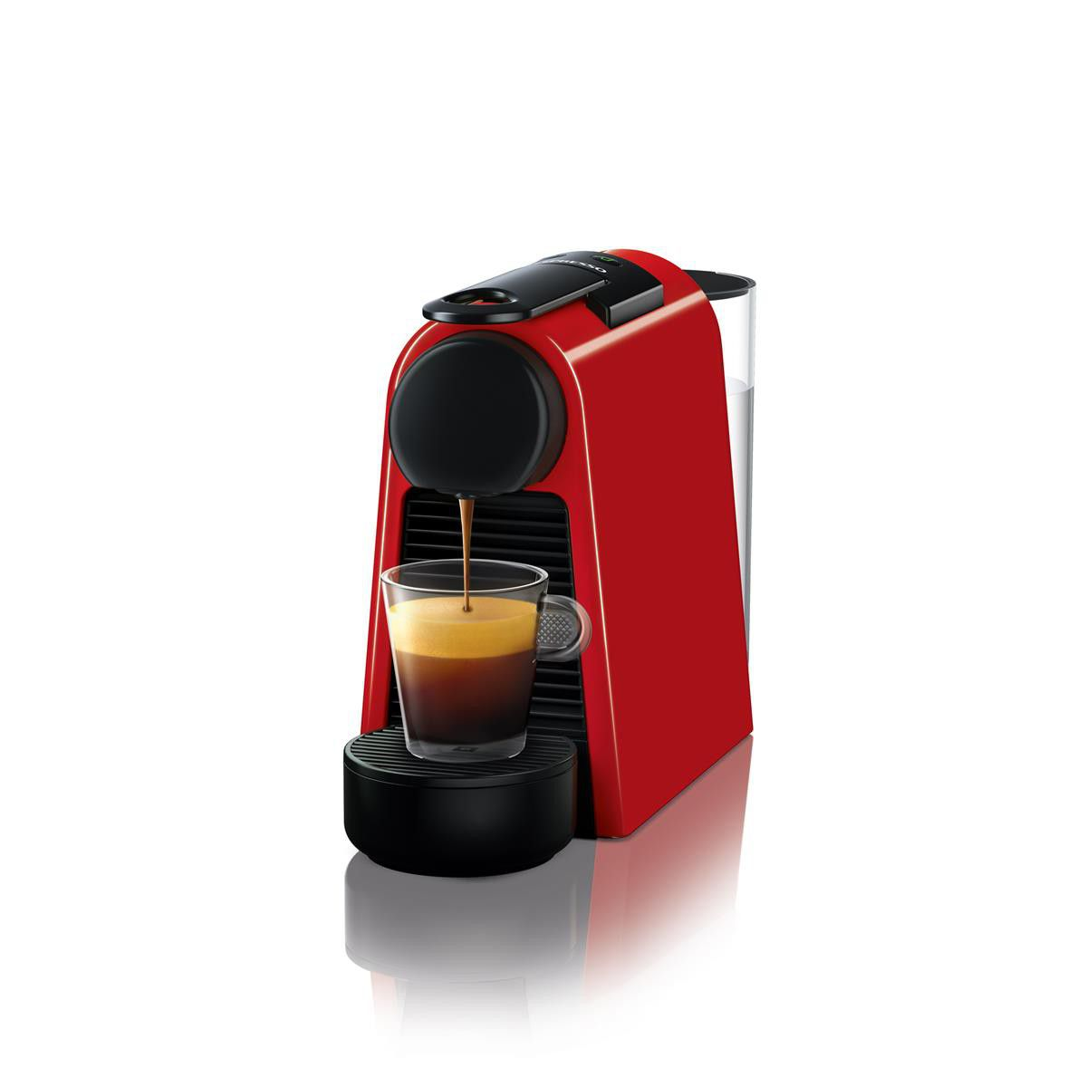 nespresso essenza mini d30 espresso lungo coffee machine red d30 za re ne buy online. Black Bedroom Furniture Sets. Home Design Ideas