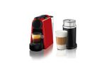 Nespresso - Essenza Mini D30 Espresso & Lungo Coffee Machine & Aeroccino - Red