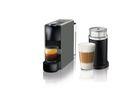 Nespresso - Essenza Mini C30 Espresso & Lungo Coffee Machine & Aeroccino - Grey