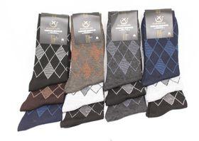 Mens Assorted Socks - 12 Pairs