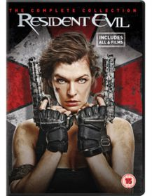 Resident Evil: The Complete Collection (DVD) (Parallel Import)