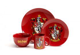 Harry Potter Gryffindor 4 Piece Dinner Set