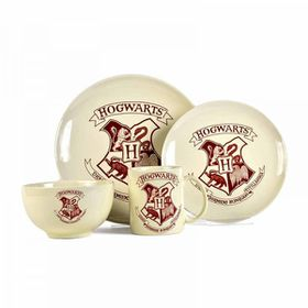 Harry Potter - Hogwarts Crest 4 Piece Dinner Set