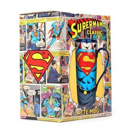 Superman Super Strength Boxed Latte Mug