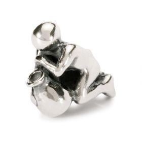 Trollbeads Aquarius Sterling Silver Bead